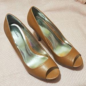 Style & Co peep toe pumps size 9